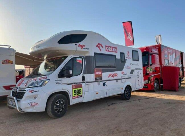 Gratulace posádce Dakaru 2021! Congratulations to the Dakar 2021 crew!