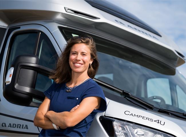 Eva Samková novou ambasadorkou Adria Campers4U