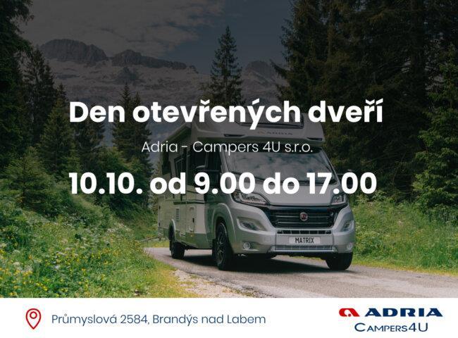 Den otevřených dveří Adria - 10.10.2020