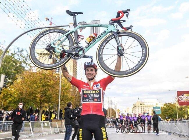 Blahopřejeme vítězi závodu la Vuelta!