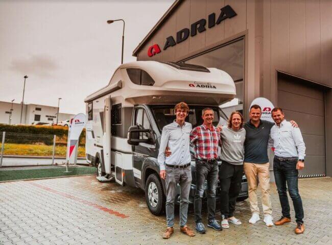 Tomáš Klus is a new ambassador of Adria Campers4U